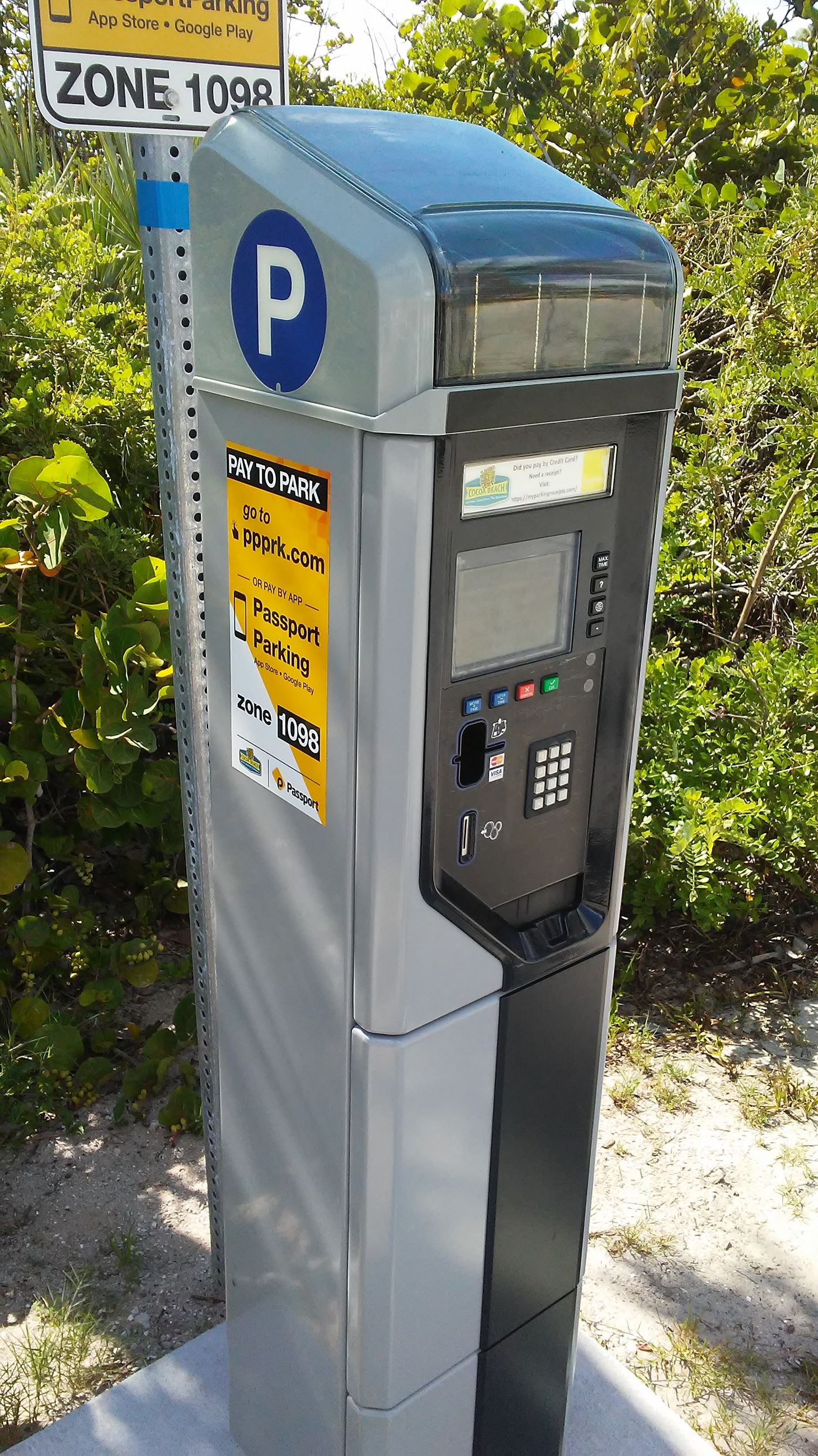 Parking and Payment Kiosk