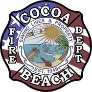 Cocoa Beach Fire Department Seal