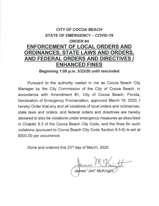 Order 4 Enforcement of local orders and Ordinances_001
